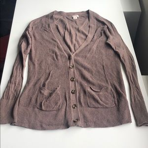 Mossimo Button Up Cardigan